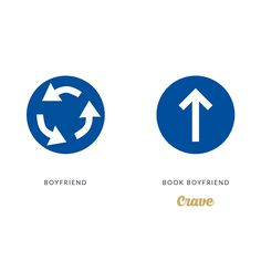 Boyfriends may lead you in circles, but your book boyfriend always gets to the point.