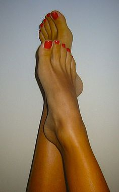 feet need to be clean and odourless. Use antibacterial soap and keep nails nice and short to prevent sore feet
