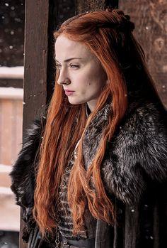 Sansa Stark in Game of Thrones 7.02 (x)