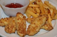 "Kid Friendly Baked Fish Sticks-more great ""kid-friendly"" recipes on her site :)"