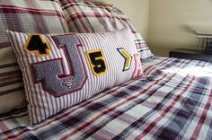 Sports letter projects! Always a Project: This Ugly House :: Boy's Bedroom 1