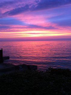 Lake Erie Sunset 2013