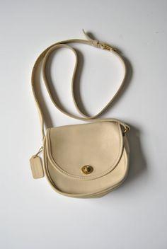 Coach Cream Watson Crossbody Bag 9981 by ModernSquirrel on Etsy