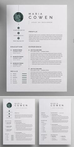 Clean Modern Resume CV