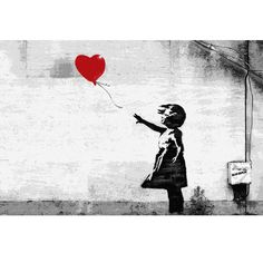 bansky / girl with a balloon