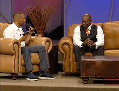 DeVon Franklin & Emmitt Smith speaking now at 2012 ManPower Conference - Streaming LIVE www.manpowerconference.org/allaccess/