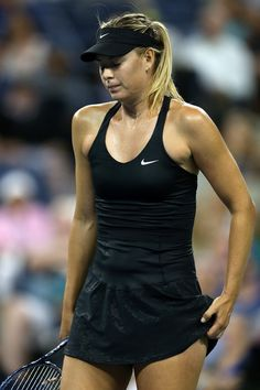 Maria Sharapova Photos: US Open: Day 1