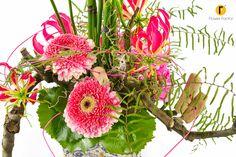 Green Inspiration @The Floral TweetJam by Pim van der Akker #Galax #Bamboo #Coral