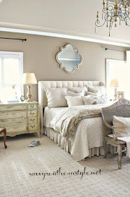 Savvy Southern Style : Neutral Master Bedroom