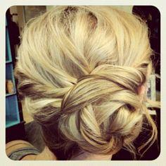 Messy Hochsteckfrisur Haar Modell > 2013 Hochzeit Frisur #804070 - Weddbook