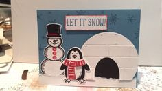 Stampin' Up! Snow Place.