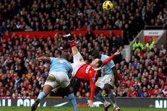 Chilena de Rooney al City, el mejor gol en la historia de la Premier League