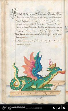 Nürnberger Schembart-Buch Erscheinungsjahr: 16XX  Cod. ms. KB 395  Folio 79