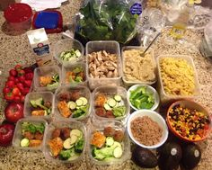Meal Prep Sunday! Start of my second week eating healthy never thought I could cook such amazing food  1) Egg whites with bell peppers and ground turkey meat. 2) Salmon with Turkey meatballs broccoli zucchini 3) Grilled Chicken  with whipped sweet potatoes & plantain mash 4) Cheezy Butternut Squash Mac & Cheese. #mealprepsunday #fitmencook #gettinginshape #eatinghealthy #sundayfunday. Shout out to @fitmencook for being an inspiration that food is an art and can a lifetime of fun! by…