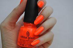 China Glaze - Orange Knockout ($2)