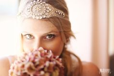 Today on The Bridal Boutique: Glam Headpiece by Something Treasured