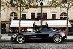 Aston Martin One-77 | par Tex Mex (alexandre-besancon.com)