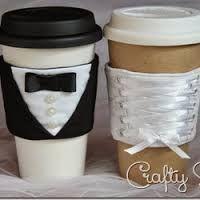 coffee cup sleeve pattern - Buscar con Google