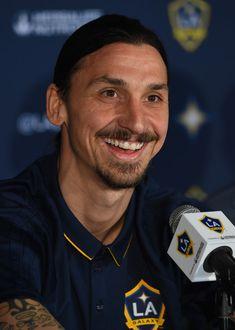 Zlatan press conference, LA Galaxy.