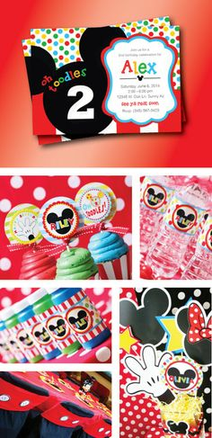 Mickey mouse Party by GardellaGlobal, $6.00