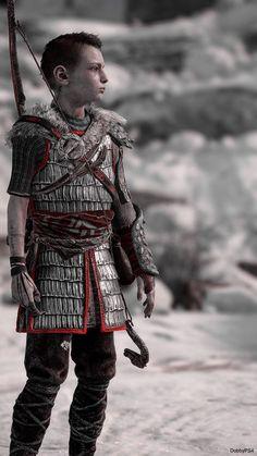 Little big Giant Gow 4, Kratos God Of War, Fantasy Male, Fantasy Armor, New Gods, Viking Warrior, World Of Warcraft, Thor, Video Games