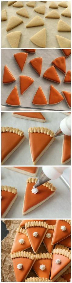 Mini-Pumpkin Pie Cookies - Red Sky Food Good.