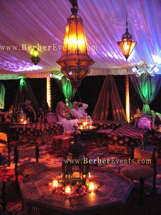 Moroccan Themed Tent Event and Lounge by BerberEvents.com