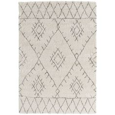 Decor 140 Isidora Rectangular Rugs - Area Rugs - White - Neutral ($317) ❤ liked on Polyvore featuring home, rugs, rectangle rugs, neutral rugs, white area rug, neutral area rugs and rectangular rugs