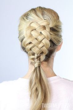 15 Ways To Make Braids Interesting Again | Postris