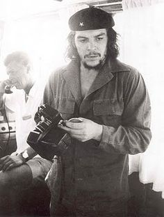 Che with Nikon S2