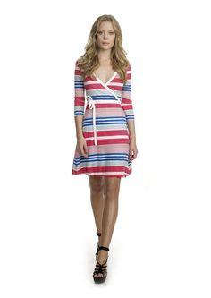 TWIST & tANGO Fame Wrap Dress Multi