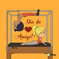 Dia do Amigo parceiro de Pilates