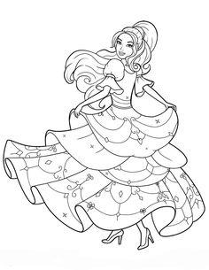 barbie coloring pages dresser | barbie malvorlage – Ausmalbilder für kinder ...