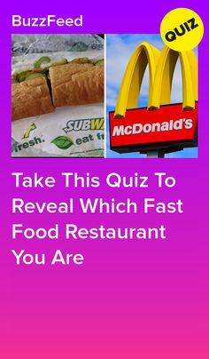Food Quiz Buzzfeed, Fun Quizzes To Take, Disney Quiz, Quiz Me, Fast Food Restaurant, Breakfast Items, Mcdonalds, Journal, Flowers