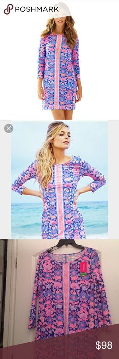 Lilly Pulitzer Marlowe Dress Brand New Lilly Pulitzer Marlowe Dress. In Werk It. LOVE this print, would love to trade for a Large or another Lilly Pulitzer dress. Open to offers as well, as always! Lilly Pulitzer Dresses