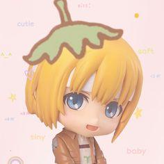 Armin, Gothic Anime, Cat Character, Attack On Titan Art, Anime Figurines, Kids Icon, Haikyuu Manga, Anime Dolls, Titans