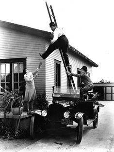 Laurel & Hardy - Hog Wild - 1930