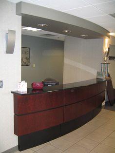 Fort Wayne Pools Reception Desk