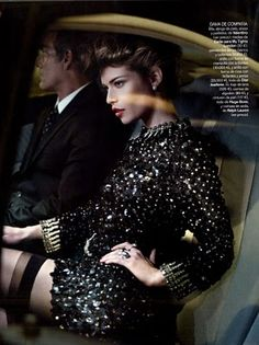 Spanish Vogue December 2010 editorial - Louise Pedersen, ph: Gonzalo Machado | Celebrity magazine