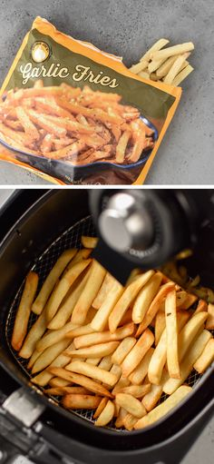 Here are 10 Trader Joe's Foods That Are Perfect for Your Air Fryer! Plus I've included my recommended temperature and time settings for everything I tried! Air Fryer Fries, Air Fryer Sweet Potato Fries, Frozen Sweet Potato Fries, Air Fryer French Fries, Air Fryer Oven Recipes, Air Frier Recipes, Air Fryer Dinner Recipes, Trader Joes Food, Trader Joe's