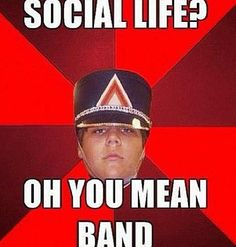 Band was my life.until my schools band program was canceled Band Nerd, Band Geek Humor, Band Jokes, Band Mom, Love Band, Marching Band Problems, Marching Band Memes, Flute Problems, Music Jokes