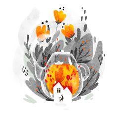 Autumn illustration part 1 on Behance