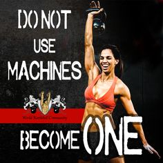 Do not use machines, become one
