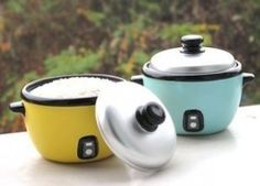 Electric Rice Cooker Style Piggy Bank