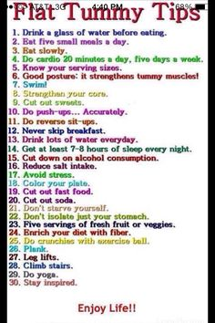 Everything except I like more then 20 minutes of cardio