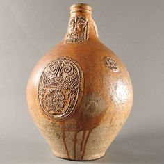 Our New Website Has Launched! Weekly updates. www.pauldegrande.com Shop this German Rhineland Bellarmine jug and many other antique furniture, fine arts pieces and decorative objects on www.pauldegrande.com #antiquefurniture #antiques #hauteepoque