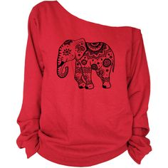 Elephant Print Oversized Off Shoulder Raw Edge Sweatshirt (€26) ❤ liked on Polyvore featuring tops, hoodies, sweatshirts, shirts, sweaters, grey, women's clothing, sweatshirts hoodies, off shoulder shirt and off the shoulder sweatshirt