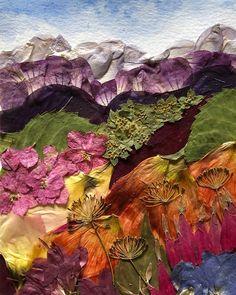 Instagram Flower Collage, Flower Canvas, Collage Art, Museum Of Fine Arts, Art Museum, Dry Leaf Art, Pressed Flower Art, Historical Art, Nature Crafts