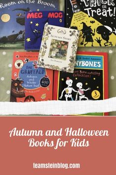 Autumn and Halloween Books for Kids #halloween #autumn #kidsbooks