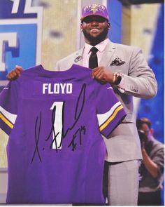 b65e0b4a AAA Sports Memorabilia LLC - Sharrif Floyd Autographed Minnesota Vikings  8x10 Photo, #sharriffloyd #